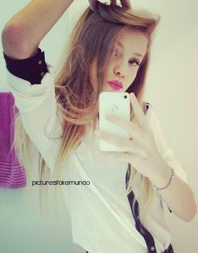 Fotos Fake de Morenas Instagram 2014 - Fotos da Mesma Pessoa