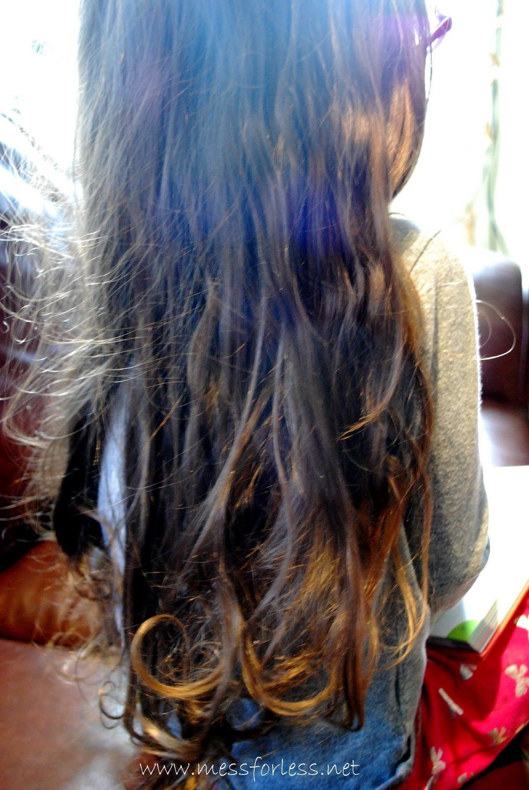 How to untangle the hair