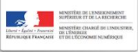 ministère de l'enseignement supérieur  et de la recherche, ministère chargé de l'industrie, de l'énergie et de l'économie numérique