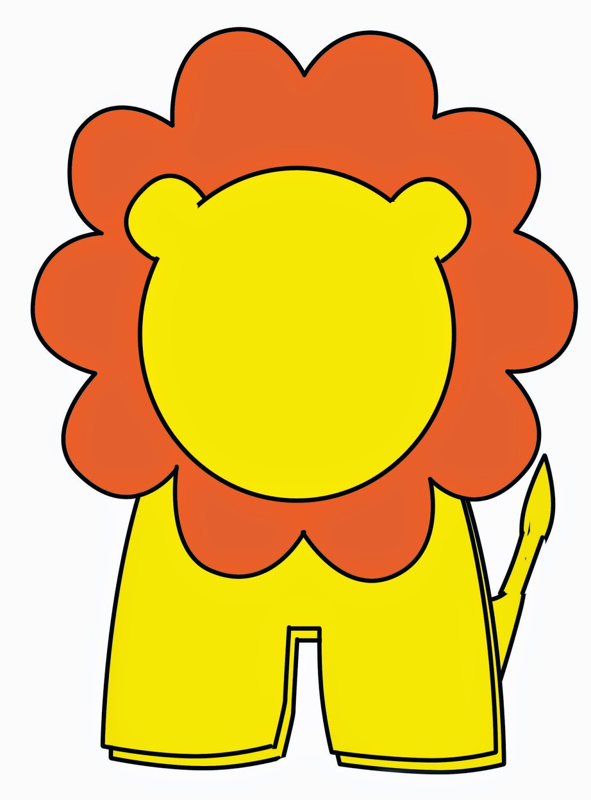 lion finger puppet no sew with template diy craft with neetu sharma