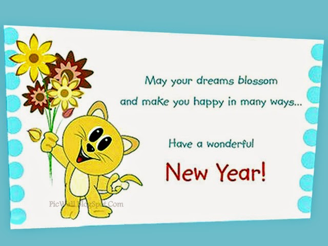 New Year Wishes Quotes 2015 - Happy New Year 2015