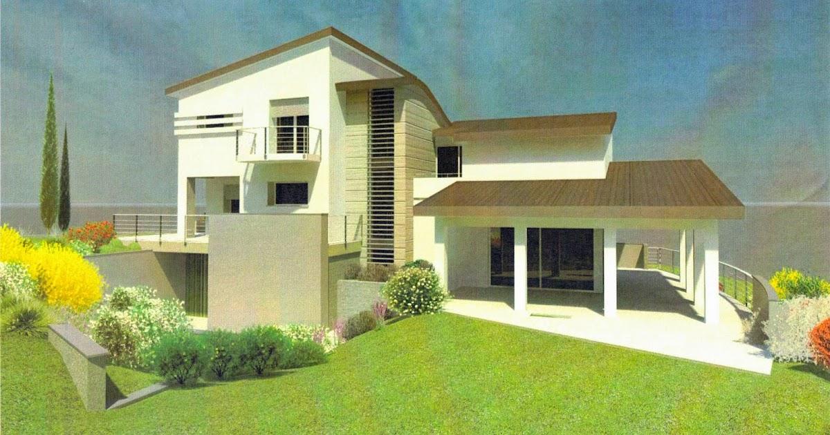 Casa delle ginestre prove di rendering per i colori esterni for Colore esterno casa moderno