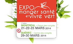 Expo Manger Santé et Vivre Vert - Click on the Image to visit the website