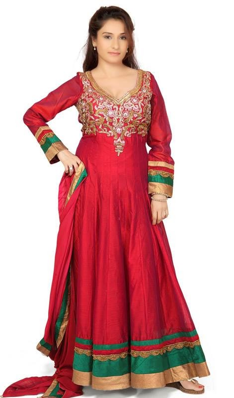 Anarkali embroidery suits collection