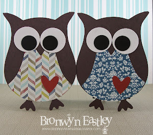 MDS, e-Cut Owl Cards - New and Improved Tutorial