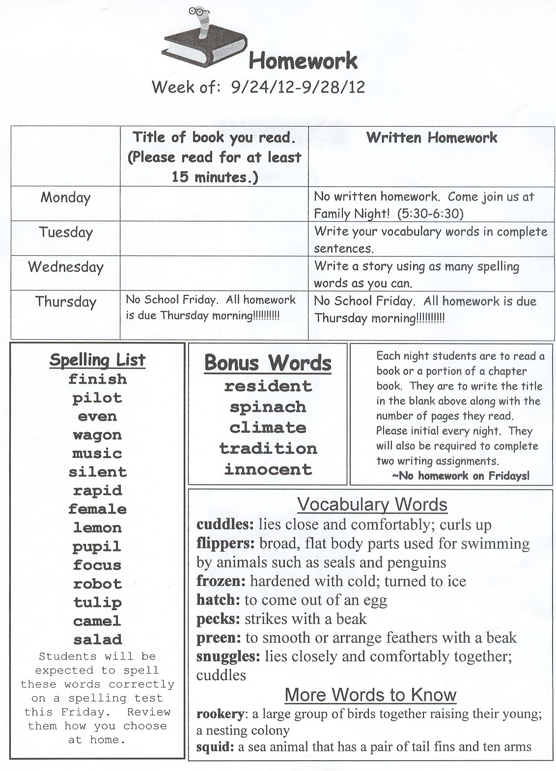 weekly homework packets guide summer homework packets for 4th graders