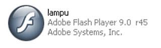 File aplikasi flash