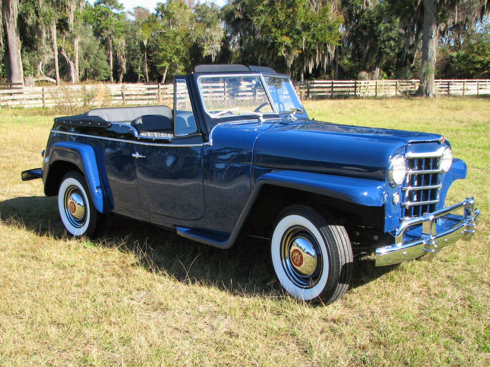 All American Classic Cars 1950 Willys Jeepster
