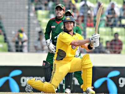 Watson hit 15 sixes against Bangladesh and scored unbeaten 185 in just 95 ball