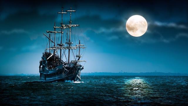 Phantom Ship HD Wallpaper