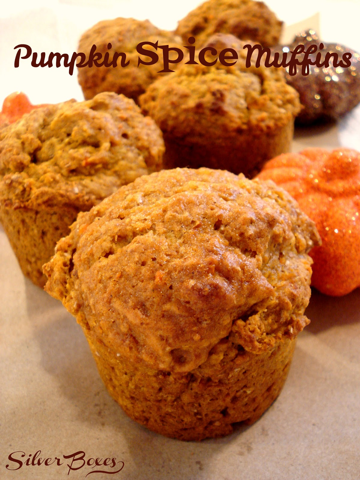 Silver Boxes: Pumpkin Spice Muffins - Delicious & Low Fat!