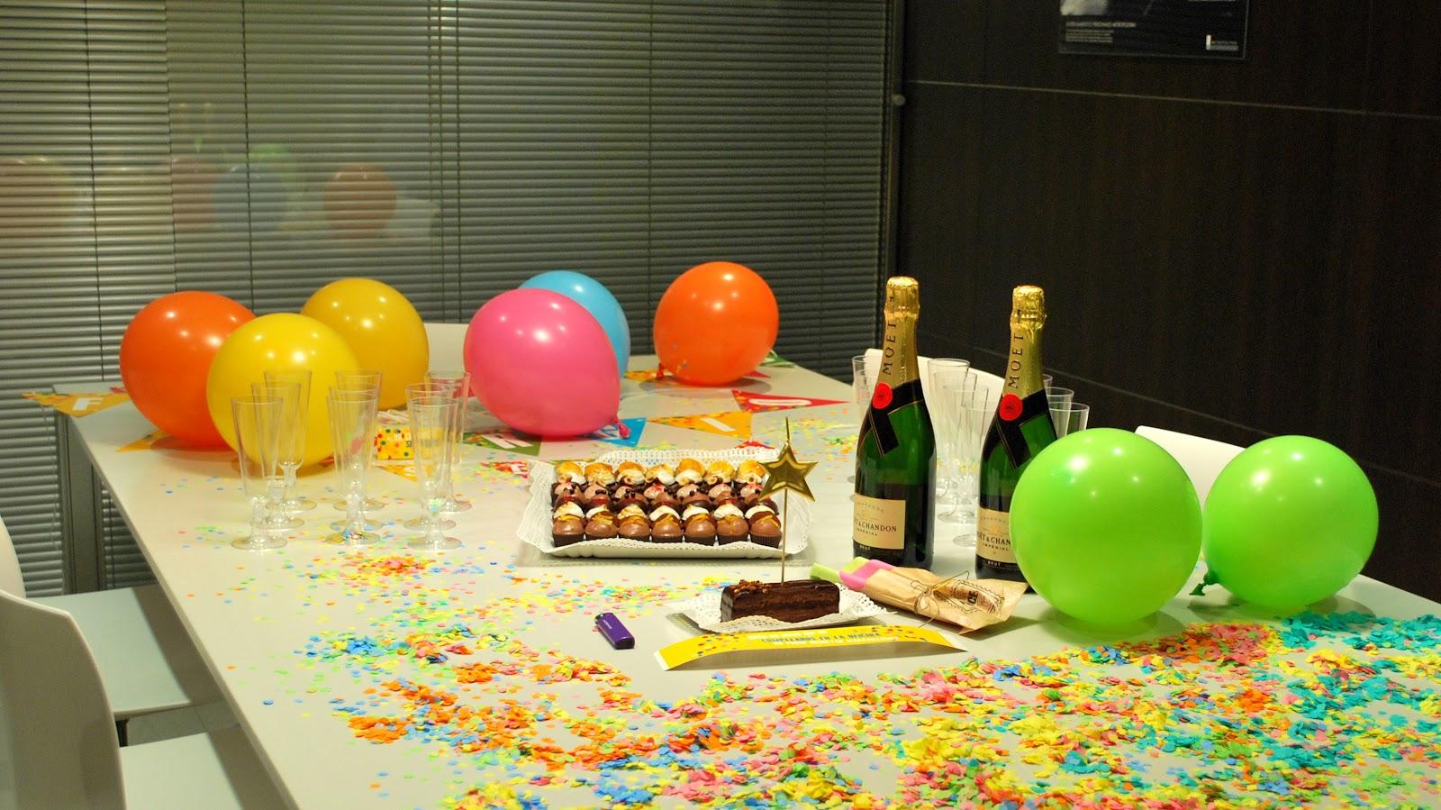 Mil cosas maravillosas marzo 2012 for Fiesta en la oficina