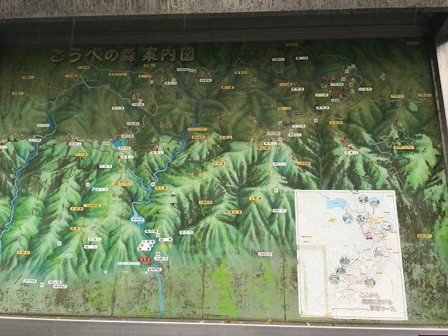 kobe nunobiki fall waterfall japan map