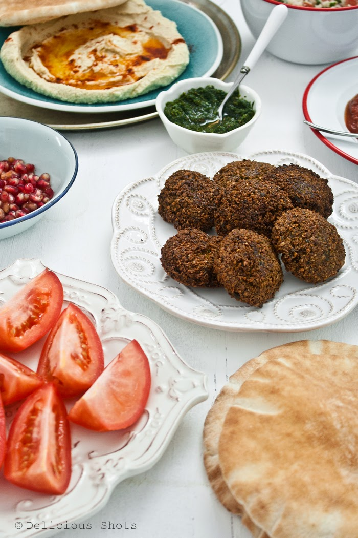 Delicious Shots: Falafel and Pickled Onions from Balaboosta Cookbook