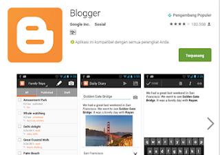 Android, Blogger dan Kegiatan Blogging