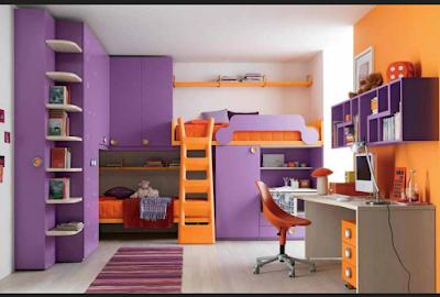 Kombinasi warna cat rumah minimalis bagian dalam