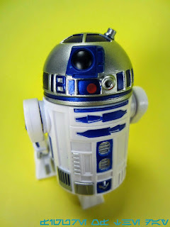 R2-Series Astromech Droid Silver and Blue MK II (not R2-D2)