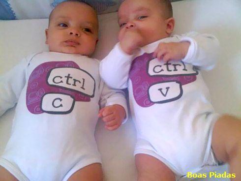 Fabricação de Gêmeos na Internet é contro c control v