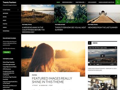 Twenty Fourteen WordPress Theme