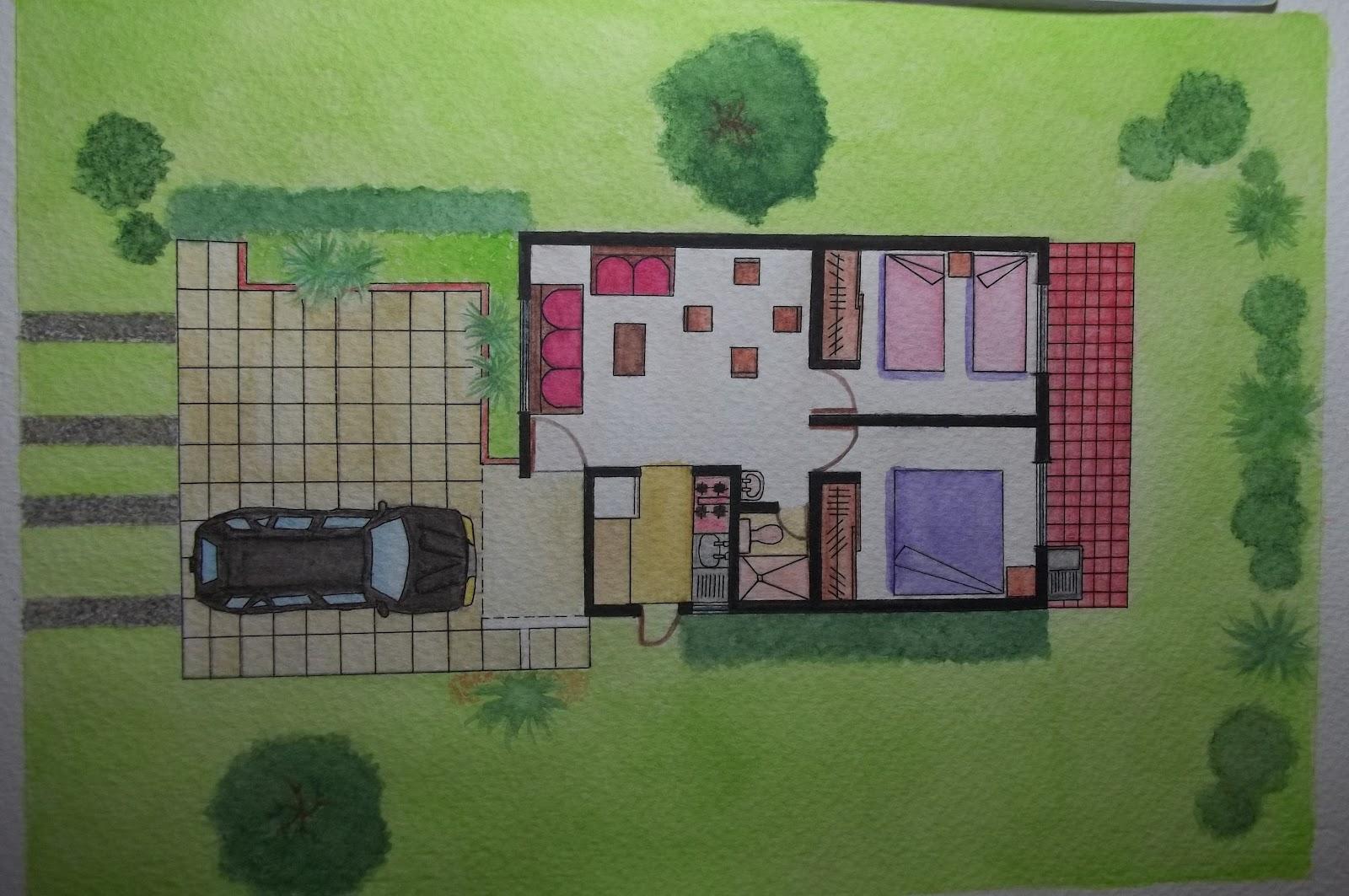 Arquitectura portafolio t cnicas de representaci n y for Tecnicas de representacion arquitectonica pdf