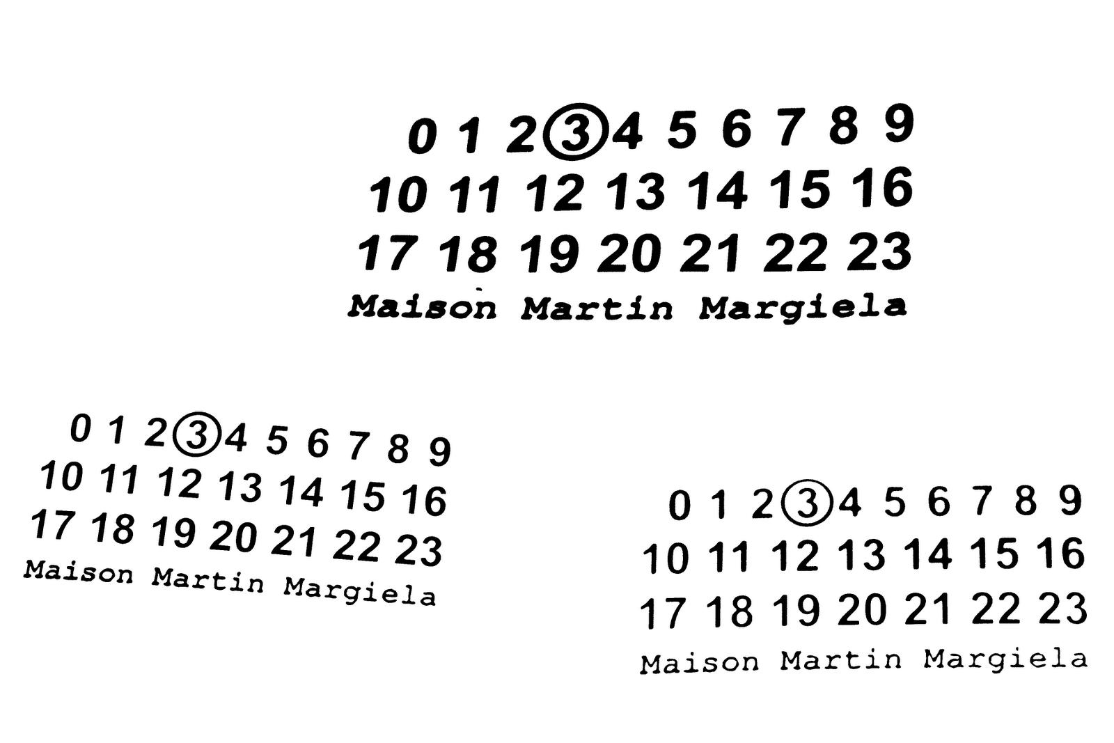 Maison Martin Margiela logos