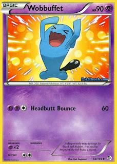 Wobbuffet Boundaries Crossed Pokemon Card