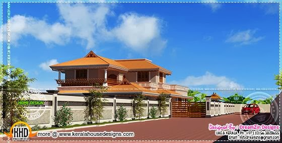 Front Compound Wall Elevation Design : Front compound wall elevation design joy studio