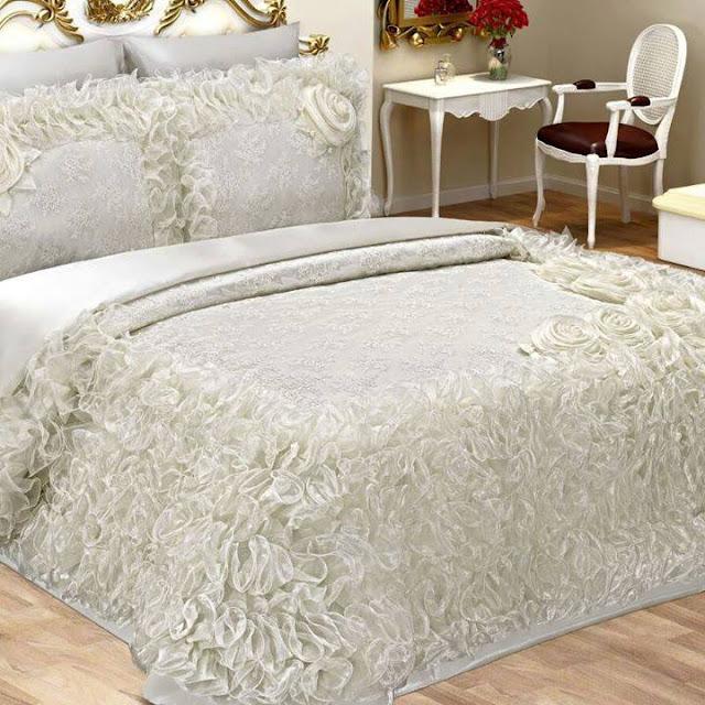 çok farklı ve değişik türde yatak örtüleri