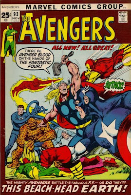 Avengers #93, Neal Adams, the Skrulls disguised as the Fantastic Four