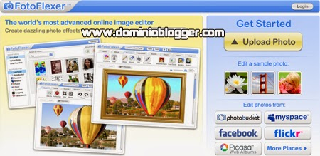 Edita y retoca tus fotos online con FotoFlexer
