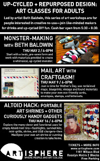 flyer for mail art with craftgasm