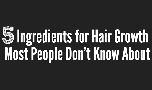 Image: 5 Ingredients for Hair Growth Most People Don't Know About