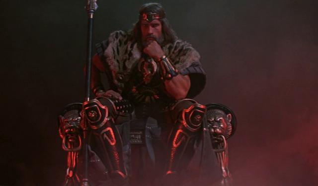 Conan Rey tal y como se veía el film de 1982