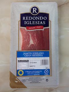 Jamón serrano gran reserva Redondo Iglesias