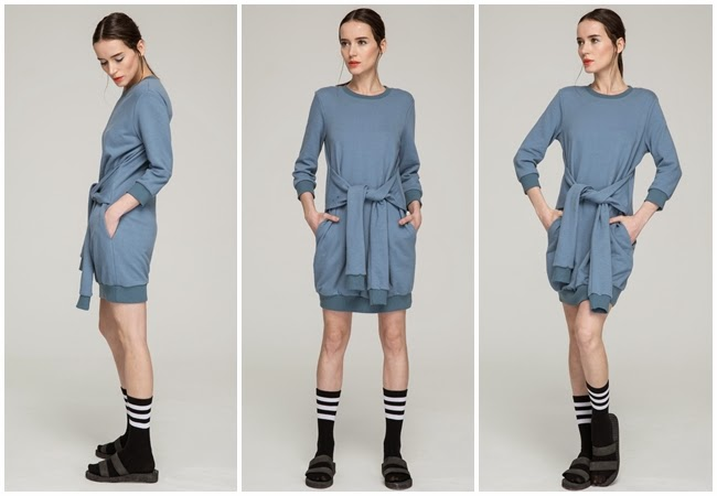 Front Row Shop Sport Dress With Four Sleeves