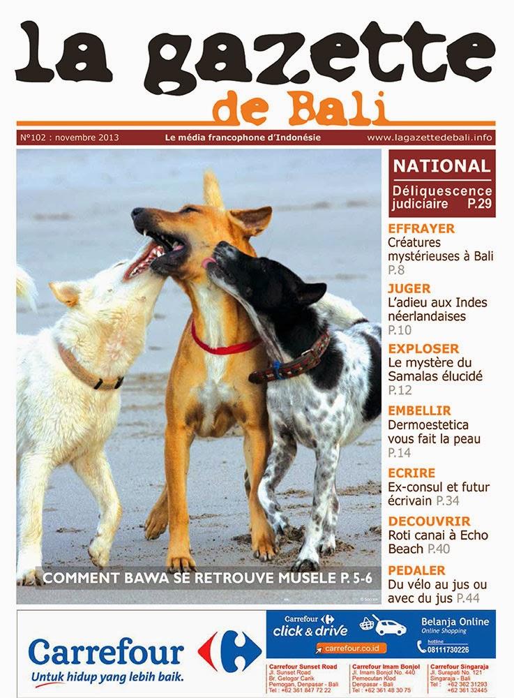 La Gazette de Bali novembre 2013