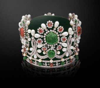 Crown Empress Farah Pahlavi Iran, created by Van Cleef & Arpels