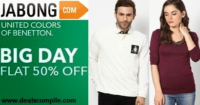 UCB Men's T-shirts & Women's Tops at Flat 50 % off