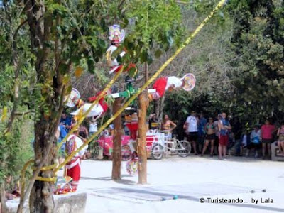 Voladores Papantla, Hombres Pajaro Mexico