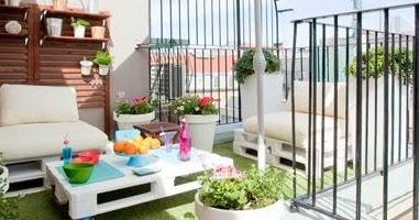 Decoraci n de terrazas en espacios peque os terraces Como disenar una terraza