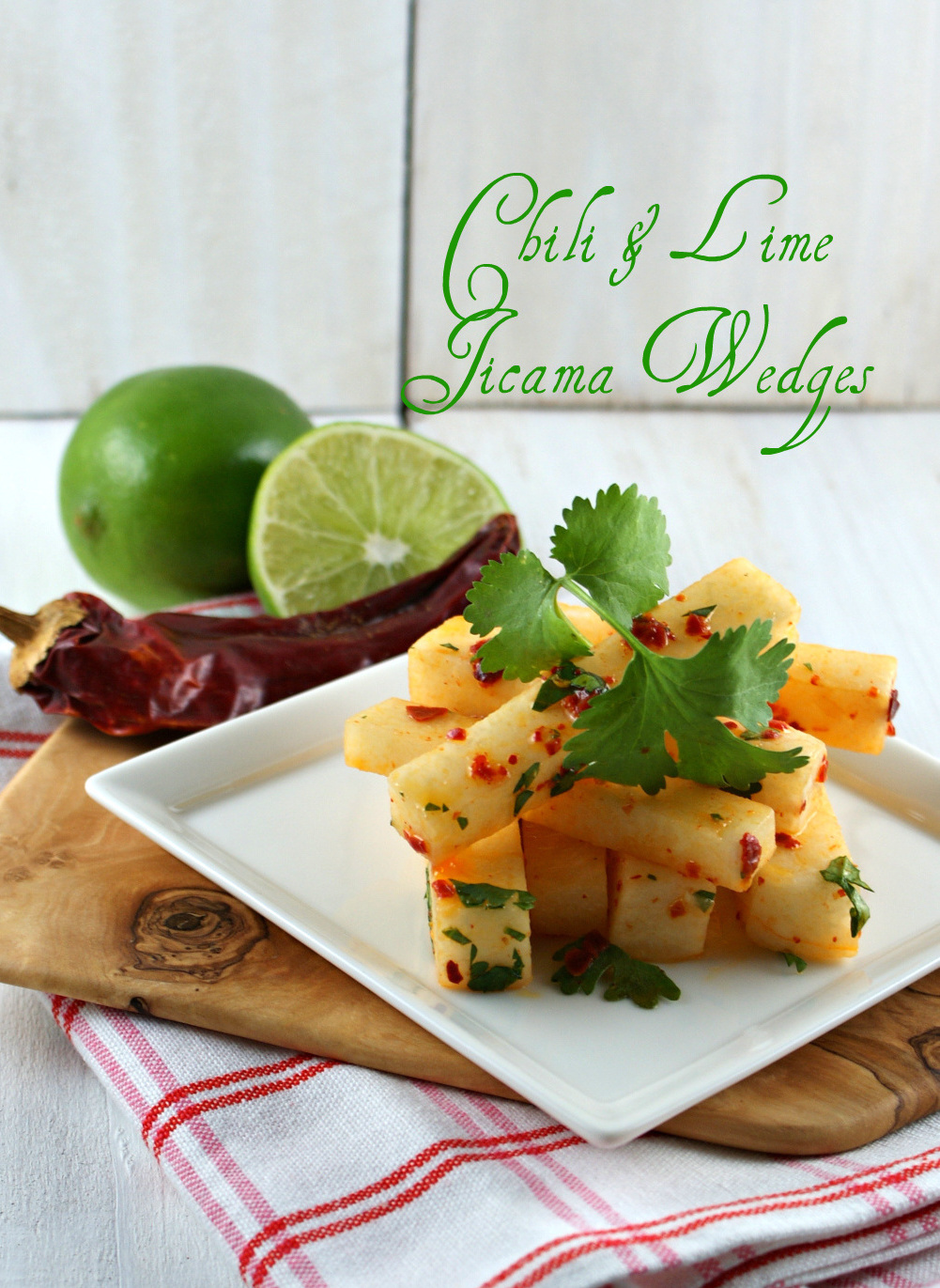 OMG! That's Allergy Free?: Jicama, Chili, Lime and Cilantro Wedges ...