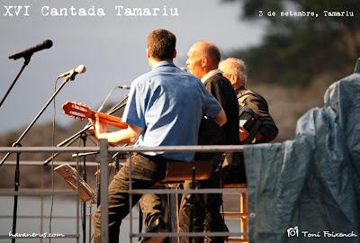 El Taper a la XVI Cantada d'havaneres de Tamariu