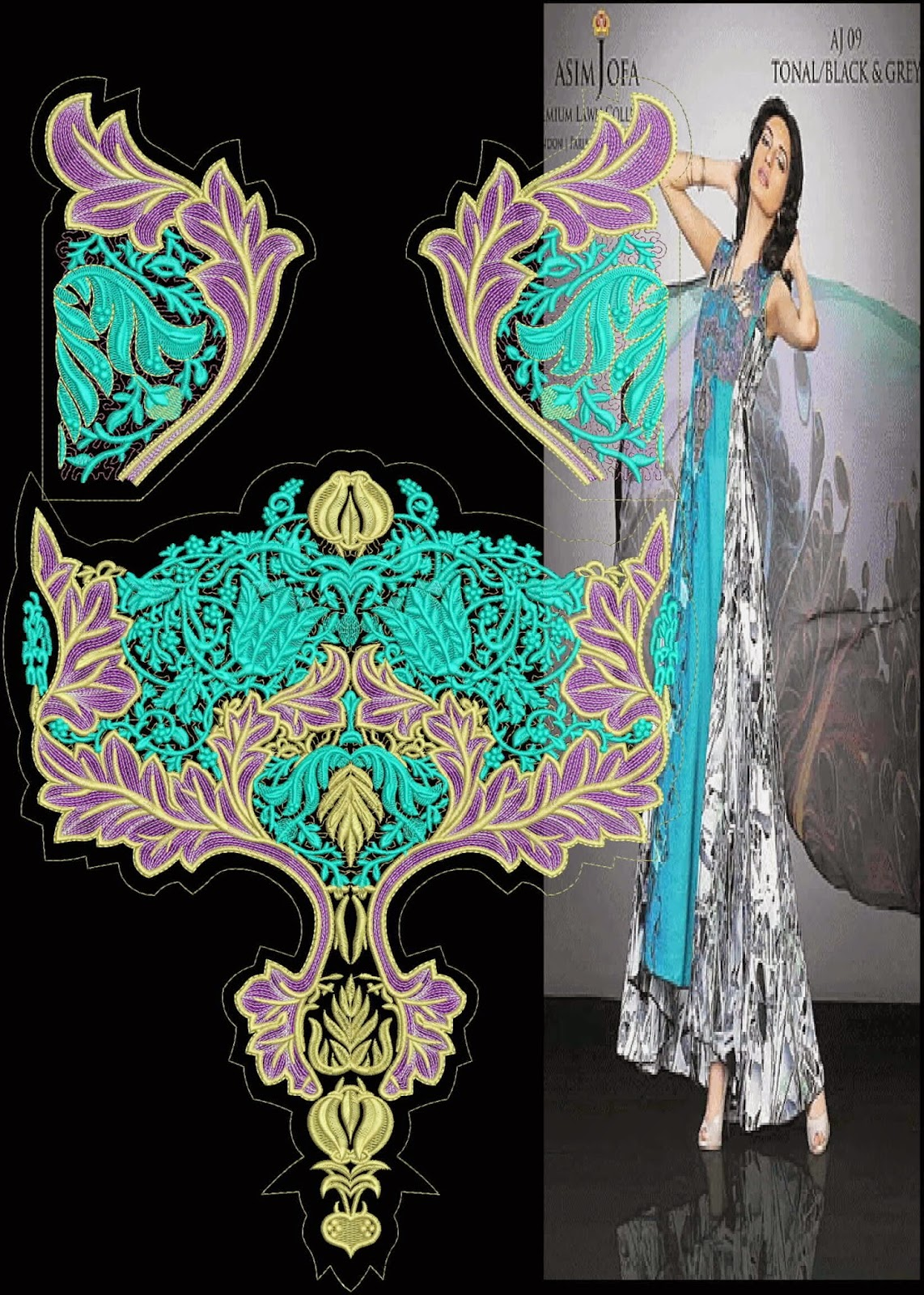 Designer Embroidery Designs image