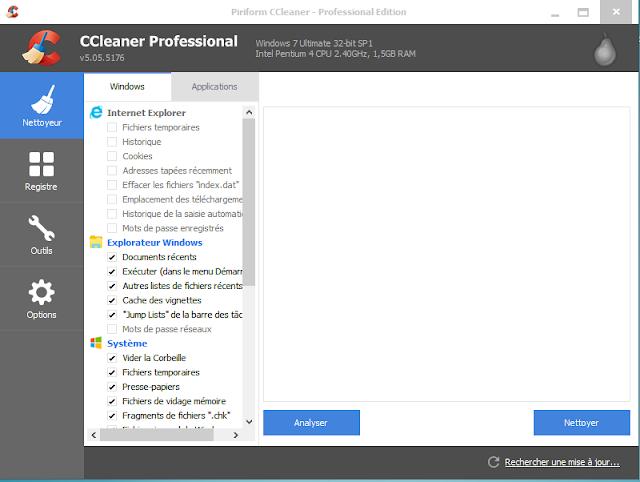 تحميل برنامج CCleaner سي كلينر مع سيريال مدى حياة serial + 2015