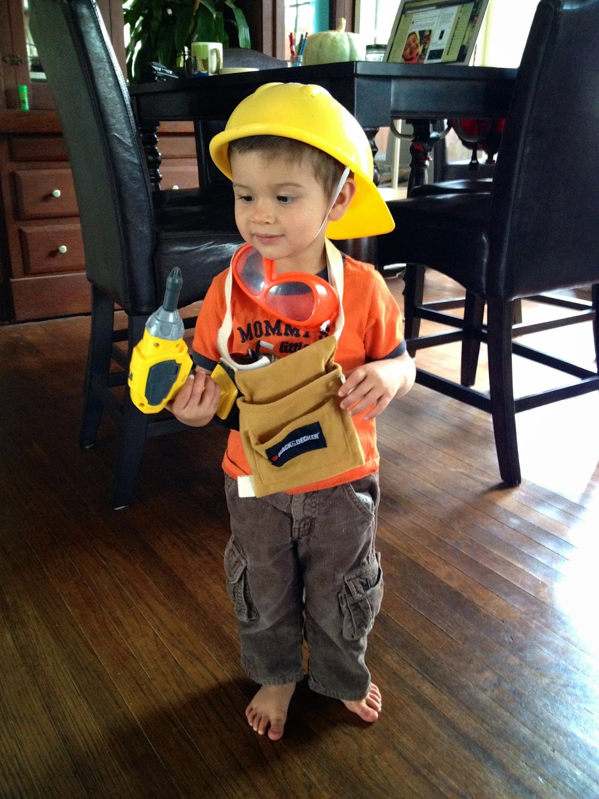 Can anyone get enough of their cute kids in costumes? I canu0027t stand it! Heu0027s a construction worker in case you couldnu0027t tell.  sc 1 st  Abbyu0027s Alley & Abbyu0027s Alley: Halloween Under Construction