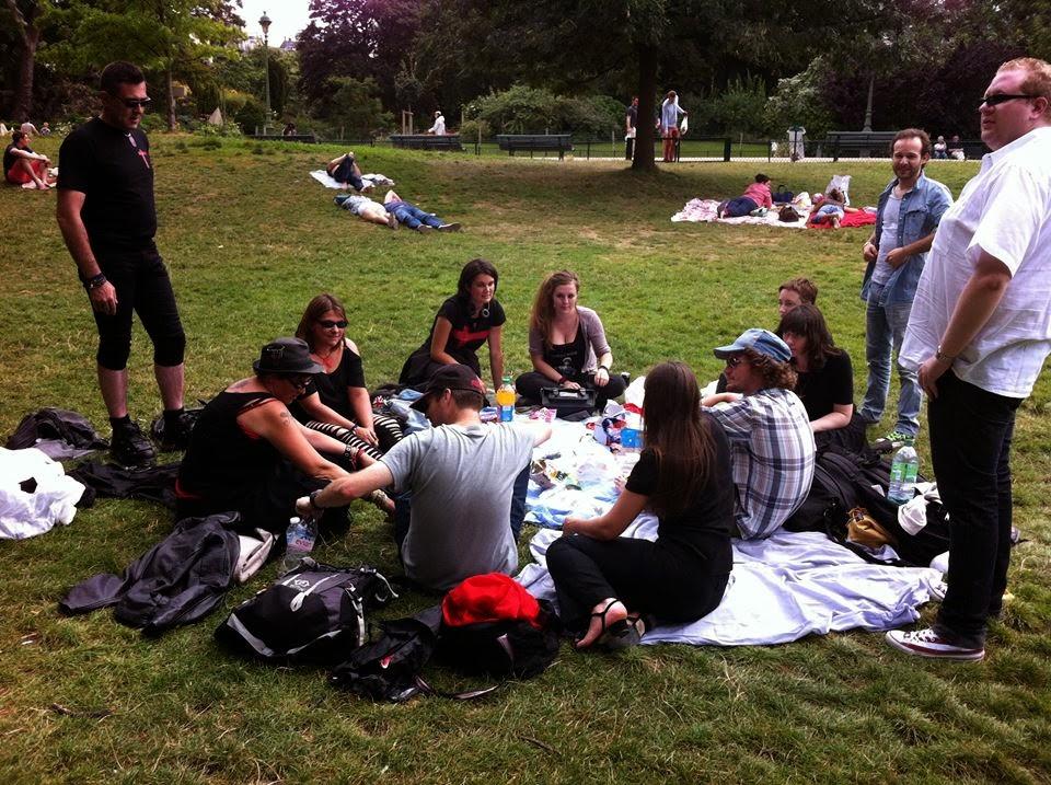 El reencuentro indo-franco-peruano en París