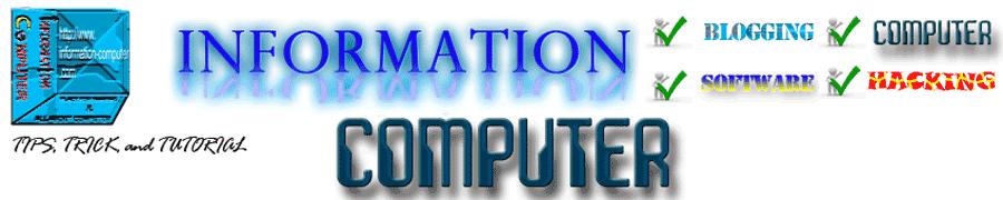 INFORMATION COMPUTER
