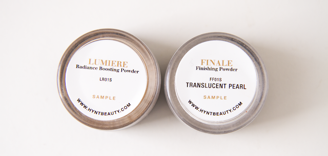 Photo of Hynt Beauty Lumiere Powder and Finale Powder.