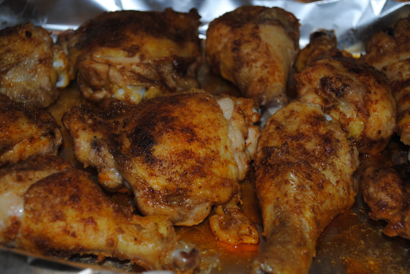 What's Cooking?: Oven baked chicken