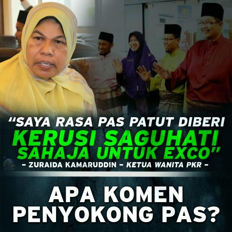 Kedudukan EXCO Selangor Hinanya PAS Di Mata PKR